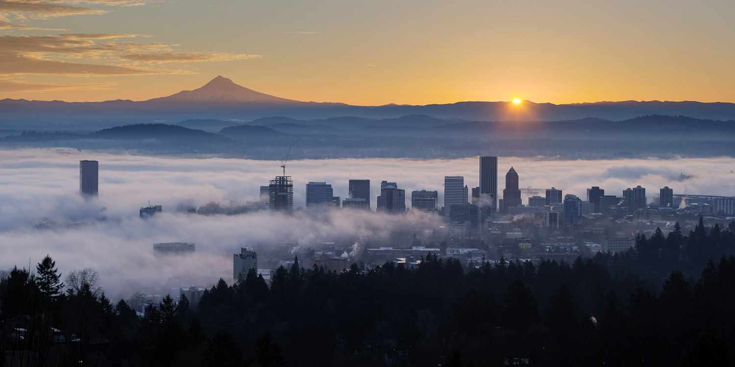 Portland Oregon Home Inspections Portland Skyline